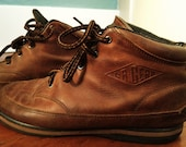 Brown Adventure Ankle Boots Size 7