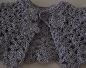 Lavender Easter Capelet/Cape for the Little Girl