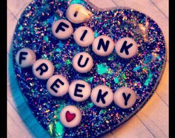 I Fink u Freeky Die Antwoord necklace