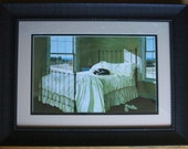 Lazy Afternoon by Zhen-Huan Lu  18 x 24 Black Frame