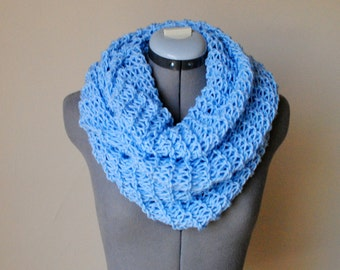 Infinity Scarf- BABY BLUE