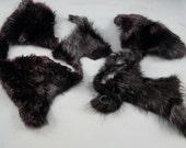 Arctic Store® BEAVER Fur Scraps Totem Fur Supplies BVR1 Arktika Russia