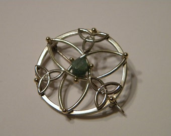 A Sterling Silver Celtic Pin