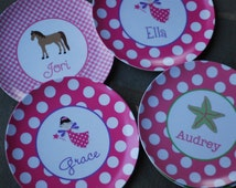 Personalized Melamine Plate for Children - Design your own!