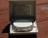 Vintage NOS 1970's silver tone ID bracelet SPEIDEL engravable mens