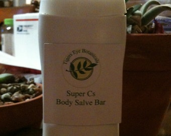 Super Cs Body Salve Bar