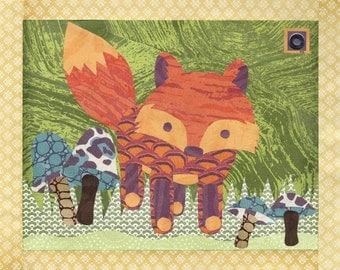 Fox Woodland Creature Printable PDF