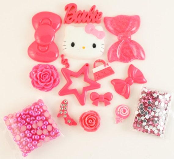 "SALE - Kawaii Petit Deco ""Hot Pink Heaven"" Kit"