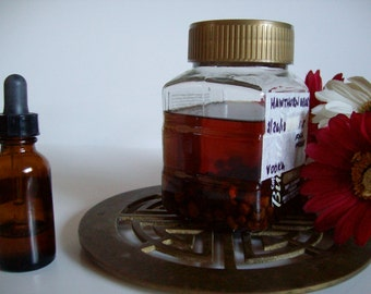 Hawthorn Berries Tincture  - 1 Fluid Ounce - READY TO SHIP