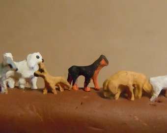 Super tiny dogs set IX.
