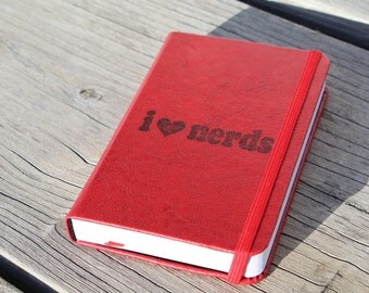 I love Nerds Journal Sketch Book