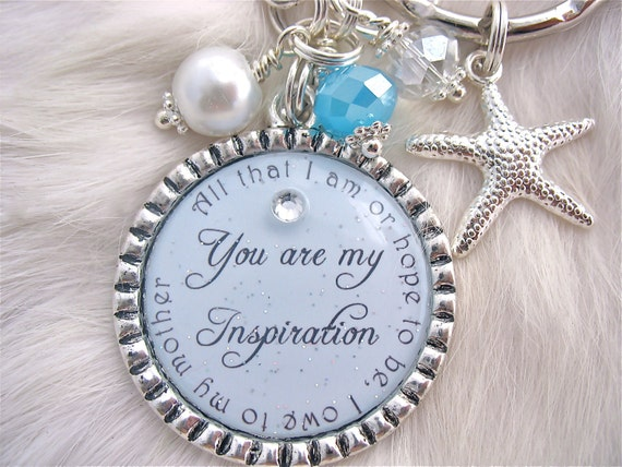 Perfect Wedding Gift For Your Daughter : ... quote necklace Beach Jewelry Bottle cap Mother Daughter Wedding