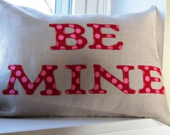 Pillow Cover Be Mine 12x16