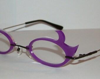 Oval hooks Cosplay Costume Sunglasses Glasses