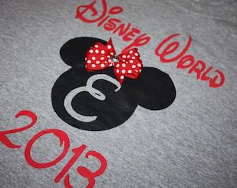Disney World 2017 Custom Hand Painted Youth T-Shirt