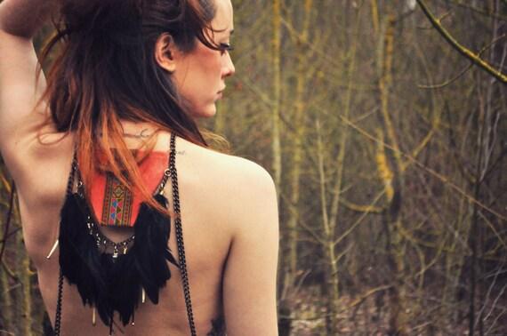 Esmay / Jewel harness / necklace body / UNIQUE PIECE