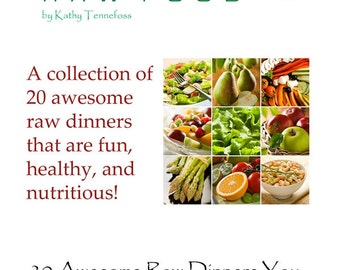 20 Awesome Raw Food Main Dishes