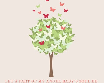 Miscarriage/Stillborn/Infant/Child Memorial Announcement ((Angel Baby))