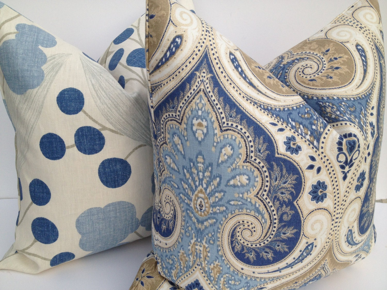 Ikat Throw Pillows Etsy : Kravet Latika Ikat Decorative Pillow Cover by PillowChix on Etsy