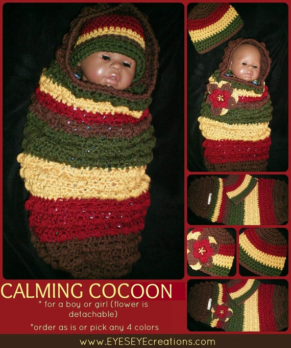 Calming Baby Cocoon - MADE to ORDER