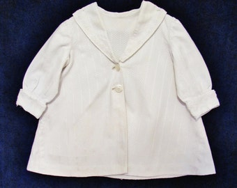 Girl's antique spring coat, early 1900's Edwardian little girl's coat