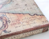 Old World Map Wrapping Paper 2X10 ft - Masculine Gifts, Travel, Scrapbooking, Crafts, Cards, Father's Day, Christmas, Gift Wrap Paper