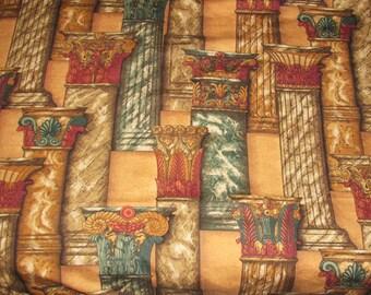 Large Fabric Decorative Columns - 54 x 67