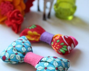 Set of 2 hair accessories pins Ribbon