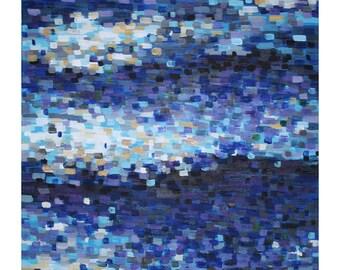 Pixelated Water, Photo Print