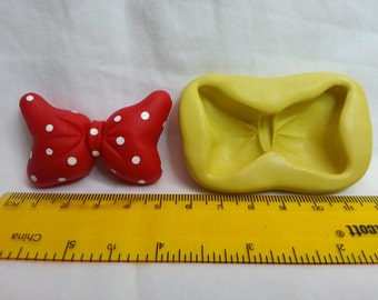 Silicone mold, Bow Minnie Mouse 5 cm.