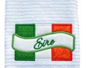Irish Eirn Dish Towel   ----   Also Kiss Me
