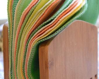 Cloth Napkins, Unpaper Napkins, 30 Citrus Burst Napkins, Eco-Friendly Napkins
