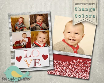 Valentines Photography Templates - Valentines Card 14