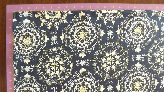 Sale dena designs tea garden cotton sateen home dec for Dena designs tea garden fabric