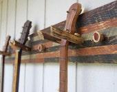 Rough Sawn Instrument Hanger