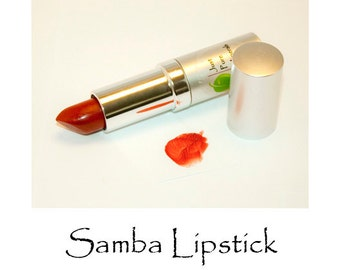 Samba Vegan Lipstick - Absolutely Cruelty-Free and Absolutely Gorgeous