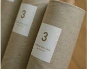 Cotton Linen Fabric Cloth -DIY Cloth Art Manual Cloth -Plain coloured cotton Fabric 55 x18 Inches