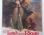 Original 1978 Lord of the Rings magazine ad