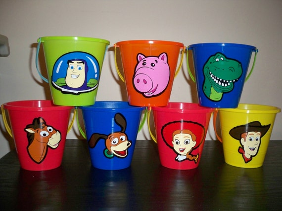 Party Favor Toys : Toy story party favor pails price is for one pail
