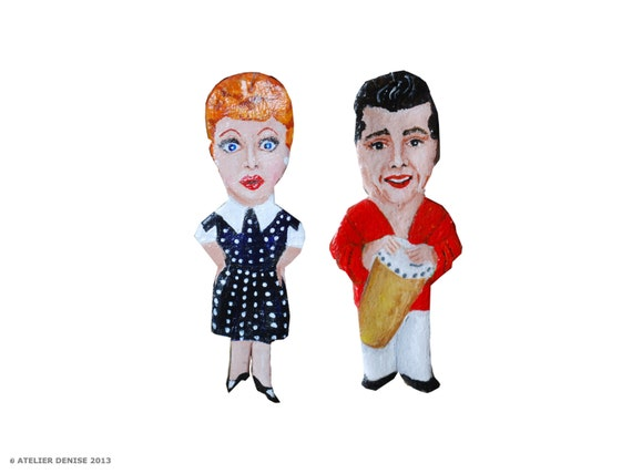 Lucy and Ricky Ricardo- I Love Lucy  Ornaments
