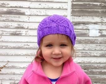 Girl's Diamond Pattern Hat
