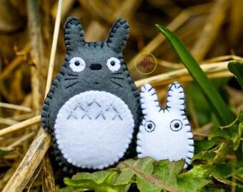 Felt Totoros - Pocket Plush Toys