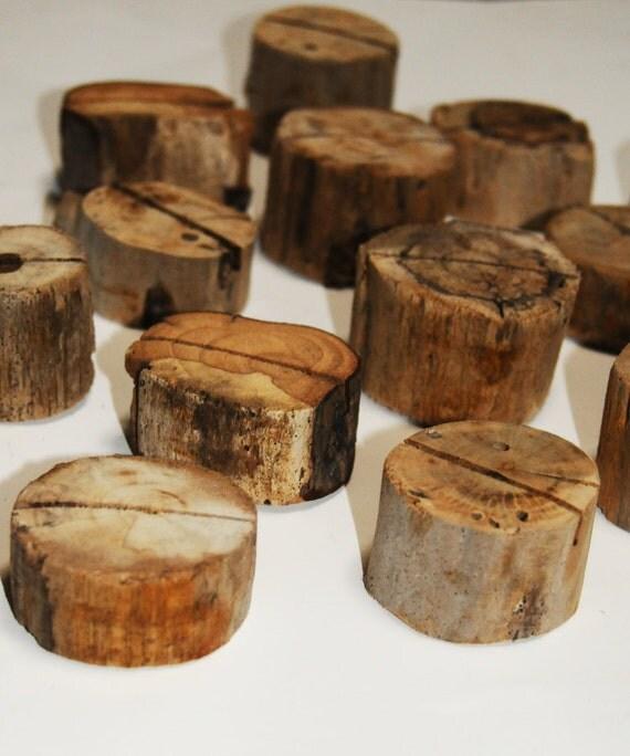 Rustic Woodsy Wedding Ideas: Winter Wedding Decor Driftwood Card Holders Beach By Seagypsys