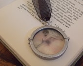 Silver Rounds Double Sided Locket