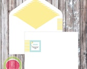 Return Address Label - KITE Party Printables - Party printables by WC Designs