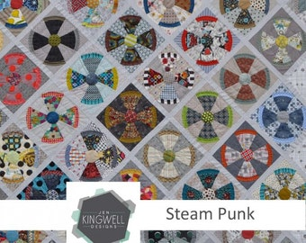 Steam Punk Quilt Pattern by Jen Kingwell Designs
