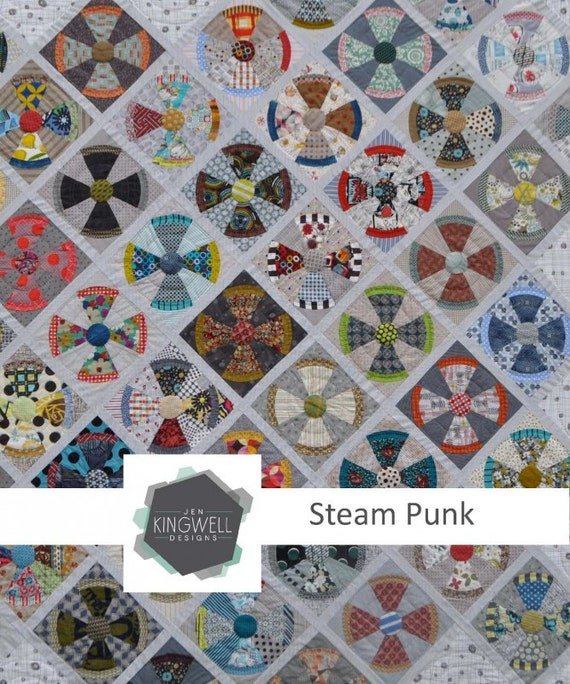 Steam Punk Quilt Pattern by Jen Kingwell Designs : steampunk quilt pattern - Adamdwight.com