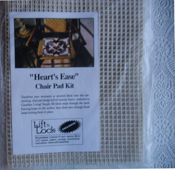 Chair Pad Kit Heart's Ease Lift 'n Lock Exclusive for Canadian Living Magazine