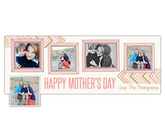INSTANT DOWNLOAD - Mother's Day Facebook timeline cover - Photoshop template - E807