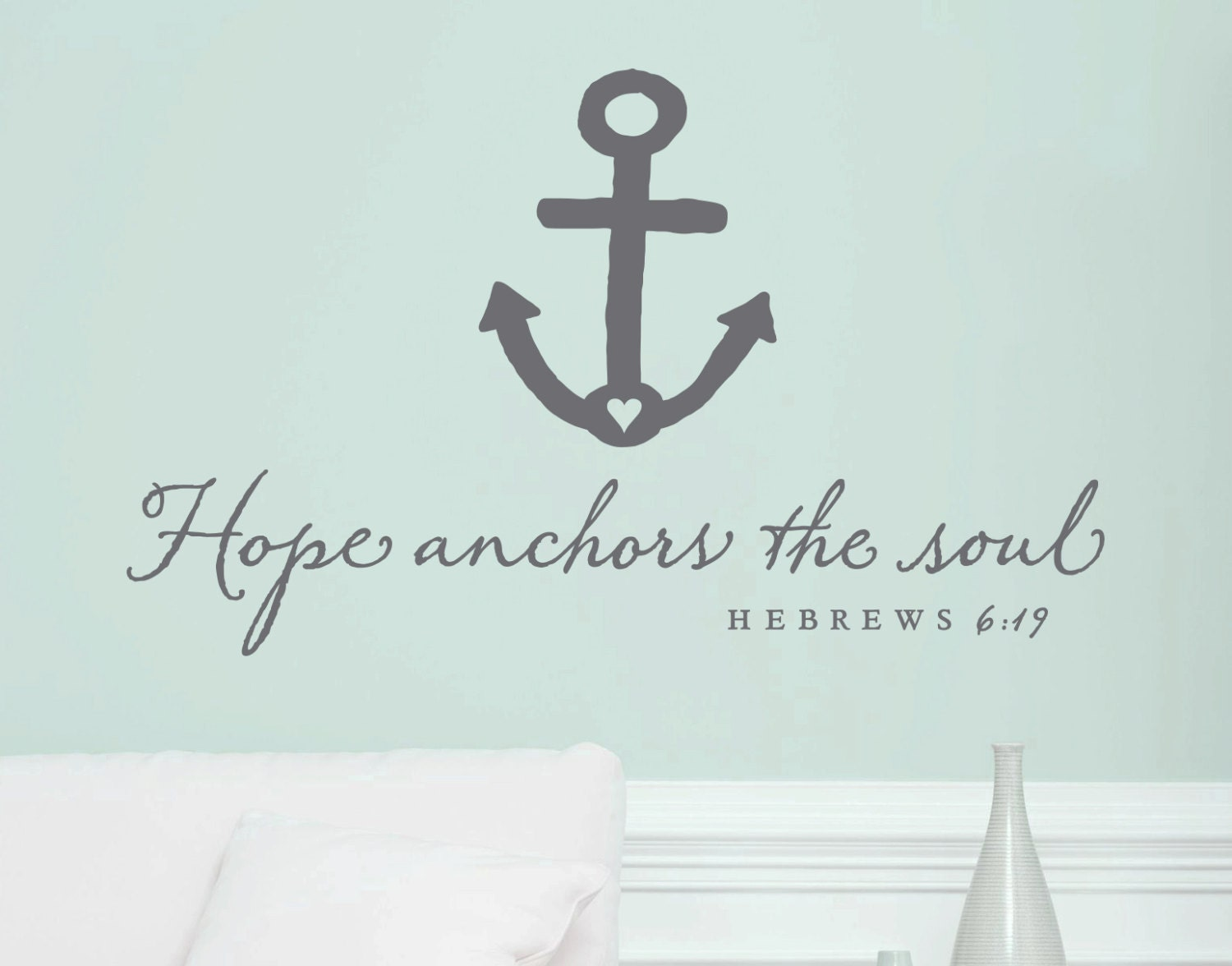 Unavailable listing on etsy for Hope anchors the soul tattoo